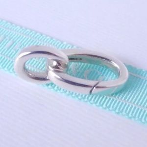 Tiffany&Co Link for clasping bracelet 1pc